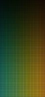 緑のグラデーションドット iPhone 11 スマホ壁紙・待ち受け