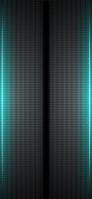 黒い穴 サイドの青いライン iPhone 11 スマホ壁紙・待ち受け