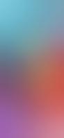 綺麗な水色・ピンク グラデーション iPhone 12 Pro スマホ壁紙・待ち受け