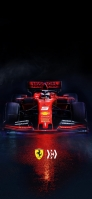 F1 フェラーリ iPhone 12 Pro スマホ壁紙・待ち受け
