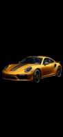 金色と黒のかっこいいスポーツカー OPPO Reno A Androidスマホ壁紙・待ち受け