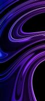 うねるような綺麗な紫のテクスチャー OPPO Reno5 A Androidスマホ壁紙・待ち受け