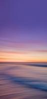 紫・オレンジ色の空 綺麗な土地 AQUOS sense4 壁紙・待ち受け