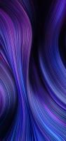 青・紫色の綺麗な線 AQUOS sense5G 壁紙・待ち受け