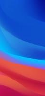 綺麗な青・赤のテクスチャー AQUOS sense4 壁紙・待ち受け