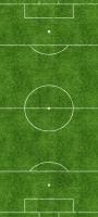 上から見たサッカー場 Galaxy A32 5G 壁紙・待ち受け