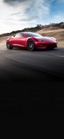 かっこいい赤いスポーツカー iPhone 11 Pro スマホ壁紙・待ち受け