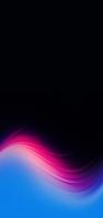 水色・ピンクの綺麗なテクスチャー 黒地 AQUOS sense4 壁紙・待ち受け
