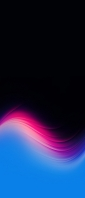 黒の背景 ピンク・青のグラデーション Xperia 10 II Androidスマホ壁紙・待ち受け