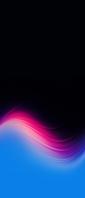 黒の背景 ピンク・青のグラデーション Xperia 10 III Androidスマホ壁紙・待ち受け