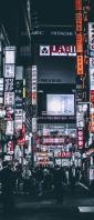 東京 歌舞伎町の街 Xperia 10 II Androidスマホ壁紙・待ち受け