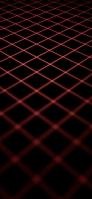 黒の背景 赤の菱形 iPhone 12 mini スマホ壁紙・待ち受け
