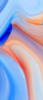 綺麗な青・オレンジのグラデーション Xperia 10 II Androidスマホ壁紙・待ち受け