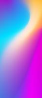 青・ピンク・黄色の綺麗なグラデーション Xperia 10 II Androidスマホ壁紙・待ち受け