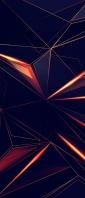 かっこいい黒と赤の光沢のあるテクスチャー Xperia 10 II Androidスマホ壁紙・待ち受け
