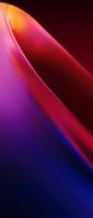 綺麗な紫・赤の楕円曲線 Xperia 10 III Androidスマホ壁紙・待ち受け