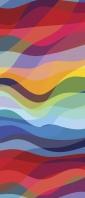 淡い色合いのカラフルなテクスチャー Xperia 10 III Androidスマホ壁紙・待ち受け