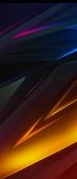 ピンク・青・オレンジの光沢のあるテクスチャー Xperia 10 III Androidスマホ壁紙・待ち受け