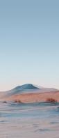 薄い水色の荒野 Xperia 10 II Androidスマホ壁紙・待ち受け