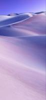 紫の空 綺麗な砂丘 iPhone 12 mini スマホ壁紙・待ち受け