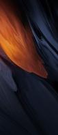 黒と茶色の溶けるようなテクスチャー Xperia 10 III Androidスマホ壁紙・待ち受け