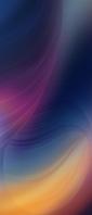 くすんだ青・赤・黄色のグラデーション Xperia 10 II Androidスマホ壁紙・待ち受け