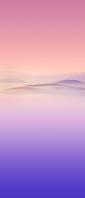 ピンクと紫のグラデーションの景色 Xperia 10 III Androidスマホ壁紙・待ち受け
