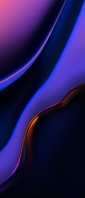 青と紫のリキッド・テクスチャー Xperia 10 III Androidスマホ壁紙・待ち受け