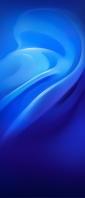 綺麗な青のグラデーションのテクスチャー Xperia 10 III Androidスマホ壁紙・待ち受け