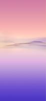 紫とピンクの山 iPhone 12 mini スマホ壁紙・待ち受け