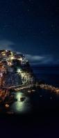 イタリア 世界遺産 マナローラ Xperia 10 III Androidスマホ壁紙・待ち受け