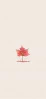 紅葉のイラスト iPhone 12 Pro スマホ壁紙・待ち受け