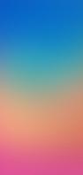 青・緑・オレンジ・ピンクの綺麗なグラデーション AQUOS sense5G 壁紙・待ち受け