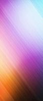 光沢のある水色・紫・オレンジのグラデーション Xperia 10 III Androidスマホ壁紙・待ち受け