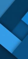 青のL字型のテクスチャー AQUOS sense4 壁紙・待ち受け