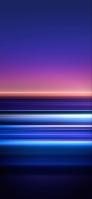 紫・青の綺麗なグラデーション テクスチャー iPhone 12 mini スマホ壁紙・待ち受け