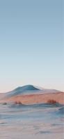 綺麗な空と荒野 iPhone 12 mini スマホ壁紙・待ち受け