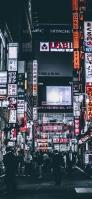 歌舞伎町一番街 新宿 iPhone 12 スマホ壁紙・待ち受け