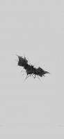 かっこいいバットマンのロゴ iPhone 12 mini スマホ壁紙・待ち受け