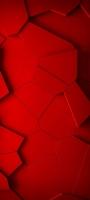 赤いひび割れた地面のようなテクスチャー Galaxy A32 5G 壁紙・待ち受け