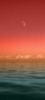 オレンジの空 緑の海 Mi 11 Lite 5G 壁紙・待ち受け