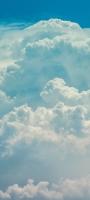 水色 白い雲 Mi 11 Lite 5G 壁紙・待ち受け