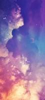 紫・ピンク・青・オレンジの空 惑星 星 OPPO Reno5 A Androidスマホ壁紙・待ち受け