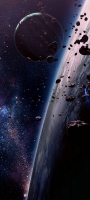 宇宙 惑星 太陽 かっこいい OPPO Reno5 A Androidスマホ壁紙・待ち受け