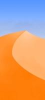 青空と砂漠のイラスト Mi 10 Lite 5G 壁紙・待ち受け