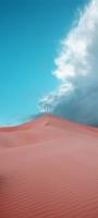 綺麗な青空と砂漠 OPPO Reno5 A Androidスマホ壁紙・待ち受け