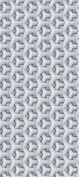 立体感のある白の六角形の集合体 Redmi Note 9S Androidスマホ壁紙・待ち受け