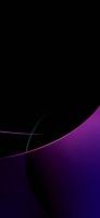 黒地 紫と緑のテクスチャー Google Pixel 5 Android 壁紙・待ち受け