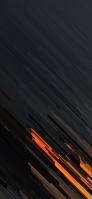 スタイリッシュな黒・オレンジ テクスチャー Google Pixel 5 Android 壁紙・待ち受け