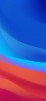 青・赤 濃淡 グラデーション 重なり Redmi 9T Android スマホ壁紙・待ち受け